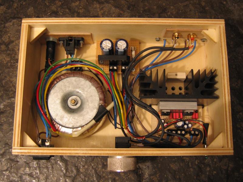 Inside the Amp