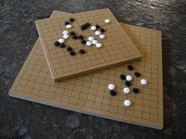 Einfache Go-Spielbretter